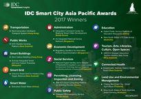 Top 18 dự án smart city khu vực châu Á được đánh giá cao nhất năm 2017