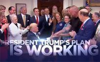 Ông Trump tung video tái cử giữa bão chỉ trích vì đụng độ ở Virginia