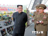 Nhà lãnh đạo Triều Tiên nghe báo cáo về kế hoạch tấn công Guam