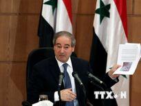 Syria cáo buộc Mỹ và Anh cung cấp chất độc cho lực lượng phiến quân
