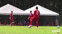 U22 Việt Nam phục hồi chuẩn bị cho trận đấu gặp Campuchia