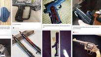 Mối nguy từ chợ đen vũ khí trên mạng