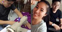 Sao Việt 24h qua: Sau đám cưới, Lê Phương thích thú khoe tài may vá của chồng