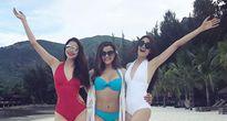 Hoa hậu Phạm Hương, Lệ Hằng 'đốt nóng' mạng xã hội