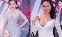 Phi Thanh Vân - Phi Huyền Trang đọ vòng 1 dao kéo nóng bỏng khi mặc sexy đi sự kiện