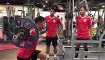 U22 Campuchia tập tạ với quyết tâm hạ Việt Nam, Thái Lan ở SEA Games