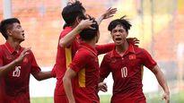 Công Phượng mở tỷ số cho U22 Việt Nam trước U22 Campuchia