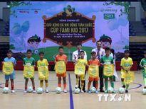 U11 Sông Lam Nghệ An vô địch Giải bóng đá nhi đồng toàn quốc