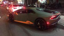 Lamborghini Huracan lên mâm vành hàng hiếm ở Sài Gòn