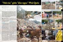 """Đau xót khi nhìn """"núi rác"""" sừng sững giữa """"đảo ngọc"""" Phú Quốc"""