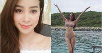 Hoa hậu Phạm Hương tái xuất mặc bikini khoe đường cong như vẽ