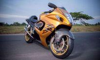 'Thần gió' môtô Suzuki Hayabusa độ hàng loạt đồ chơi khủng