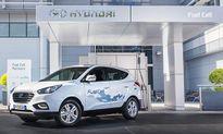 Hyundai 'show hàng' xe ôtô SUV chạy pin nhiên liệu hydro