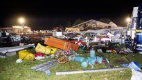 Bão lớn làm sập lều cắm trại tại Áo, hơn 100 người thương vong