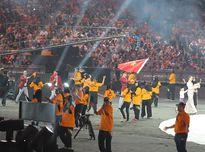 Xem Đoàn thể thao Việt Nam rạng ngời trong Lễ khai mạc SEA Games 29