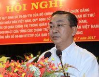 Bí thư Quận ủy Bình Tân bị kỷ luật vì thiếu trách nhiệm
