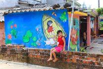 Chiêm ngưỡng ngôi làng bích họa độc đáo ngay tại Việt Nam