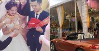 Cặp đôi quê lúa được tặng cả xe hơi, biệt thự trong đám cưới