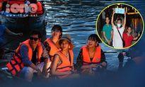 TWICE chèo thuyền thả hoa đăng khiến fan Hội An 'náo loạn'