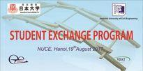 Chương trình Trao đổi sinh viên giữa trường Đại học Xây dựng và Đại học Nihon Nhật Bản