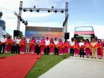 Chính thức vận hành buýt 2 tầng mui trần đầu tiên tại Việt Nam