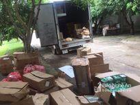 Bắt giữ xe tải chở hàng điện tử dân dụng 'lậu'