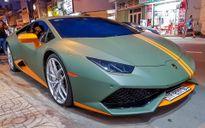 Lamborghini Huracan phong cách máy bay chiến đấu ở Sài Gòn