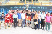 Bế mạc Giải bóng đá Hà Nội mở rộng lần thứ IX - GELEXIMCO CUP 2017