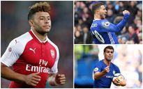 Đội hình 'siêu tấn công' của Chelsea khi có Alex Oxlade- Chamberlain