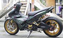 Xe máy Yamaha Exciter độ 'khủng' của dân chơi Hà Nội