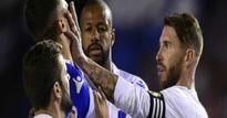 Real đè bẹp Deportivo: 'Đồ tể' Ramos xơi thẻ đỏ, Zidane kêu trời