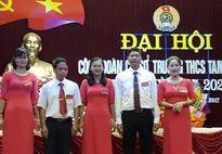 Công đoàn cơ sở trường THCS Tam Dương đại hội điểm