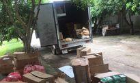 Nghệ An: Bắt giữ xe tải chở hàng điện tử dân dụng nhập lậu