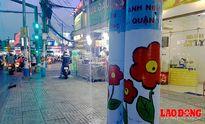 Hàng trăm trụ điện 'nở hoa' làm đẹp phố phường Sài Gòn