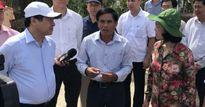 Trưởng Ban Dân vận T.Ư làm việc tại Lý Sơn về chính sách hỗ trợ ND