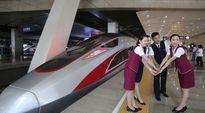 Trung Quốc sắp khai trương tàu hỏa nhanh nhất thế giới