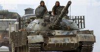 Quân đội Syria tung xe tăng hiện đại ra chiến trường đánh IS
