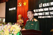 Khai mạc hội thi Trưởng phòng Tham mưu kế hoạch, Trưởng phòng Kỹ thuật toàn quân năm 2017