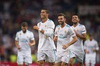 Đang bị treo giò, Cris Ronaldo tranh thủ giúp Real giành cúp tại Bernabeu