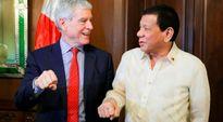 Sếp tình báo Úc bị chỉ trích vì hành động tung nắm đấm cùng Tổng thống Philippines