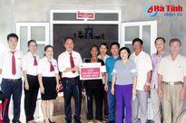 Agribank Nghi Xuân hỗ trợ nhà tình nghĩa cho gia đình nạn nhân da cam
