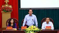 Bộ trưởng Trương Minh Tuấn làm việc với tỉnh Ninh Bình