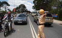 Lâm Đồng: Túc trực 24/24h đảm bảo ATGT trong dịp lễ 2/9 an toàn