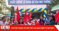 Những hình ảnh Lễ Khai giảng rực rỡ cờ hoa của các trường trong năm học mới