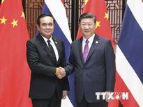 Các nhà lãnh đạo Thái Lan và Trung Quốc cam kết tăng cường hợp tác