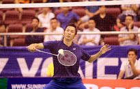 Nguyễn Tiến Minh gặp khó ở vòng 3 giải cầu lông Việt Nam mở rộng