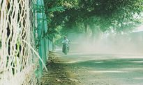 Chùm ảnh con đường bão bụi khiến dân Hà Nội 'khóc thét'