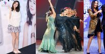 Đâu riêng gì Kim Tae Hee, nhiều ngôi sao vẫn không thể bỏ giày cao gót khi mang bầu
