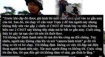 Ai tin lời Nguyễn Anh Hào, người truy đuổi và chặn xe thanh niên quay clip CSGT?