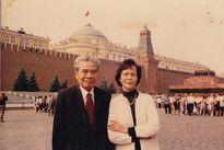Bà Hoàng Thị Kim Oanh phu nhân cố Giáo sư Tạ Quang Bửu từ trần